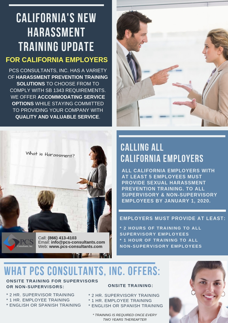 Human Resources & Business Consulting in California | PCS